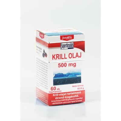 JUTAVIT Krill olaj kapszula 500 mg - 60 db