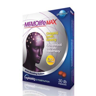 Memolife Max memória javító kapszula 60 db