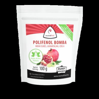 MENTALFITOL Polifenol Bomba Gránátalma-Cékla por 100 g