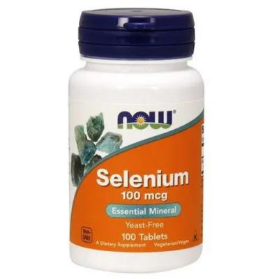 NOW Selenium tabletta 100 db