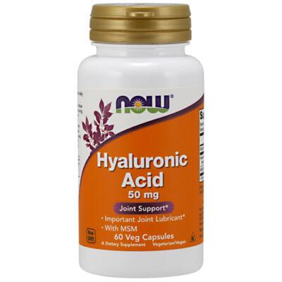 NOW Hyaluronic Acid kapszula 60 db