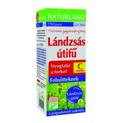 NATURLAND Lándzsás útifű szirup C-vitaminnal felnőtteknek 150 ml