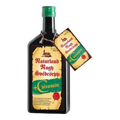 Naturland Svédcsepp C-vitaminnal 500 ml