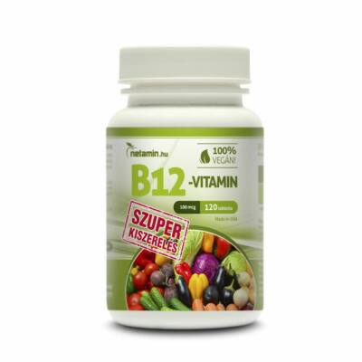 NETAMIN B12-Vitamin Szuper tabletta 120 db