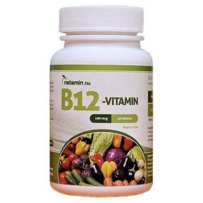 NETAMIN B12-Vitamin tabletta 40 db