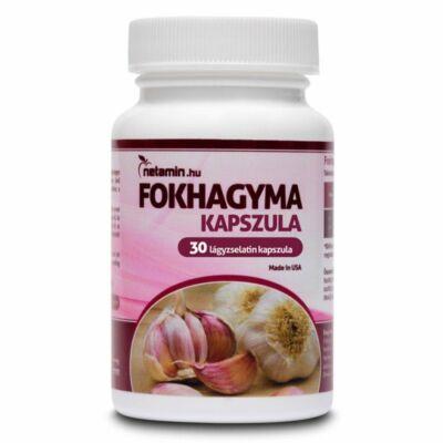 NETAMIN Fokhagyma tabletta 30 db
