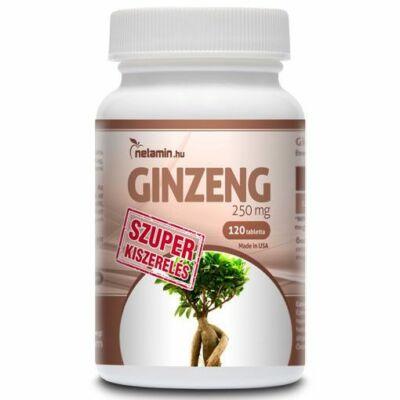 NETAMIN Ginzeng 250 mg kapszula 120 db