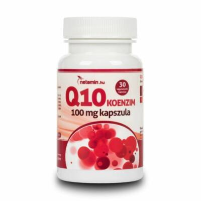 NETAMIN Q10 Koenzim 100 mg kapszula 30 db