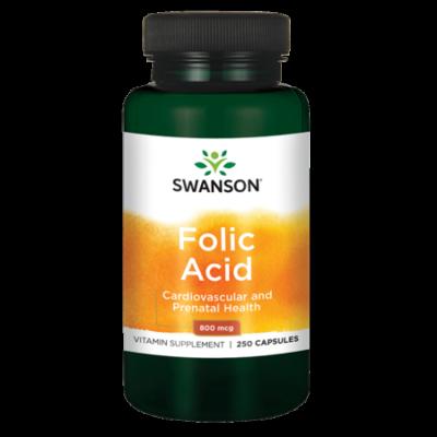 SWANSON Folic Acid (Folsav) kapszula 250 db