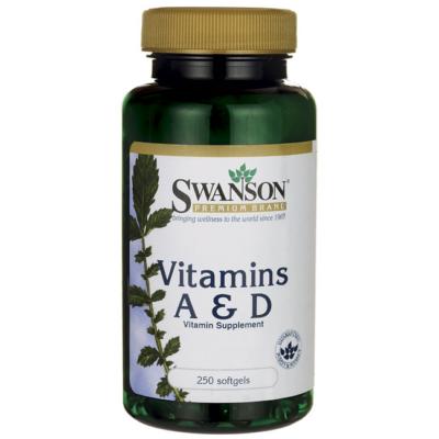 SWANSON A- és D-Vitamin kapszula 250 db