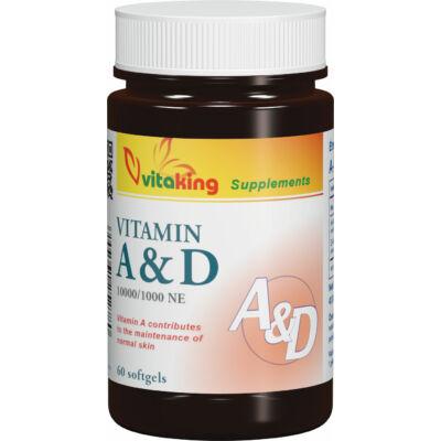 VITAKING A&D Vitamin Kapszula 60 db