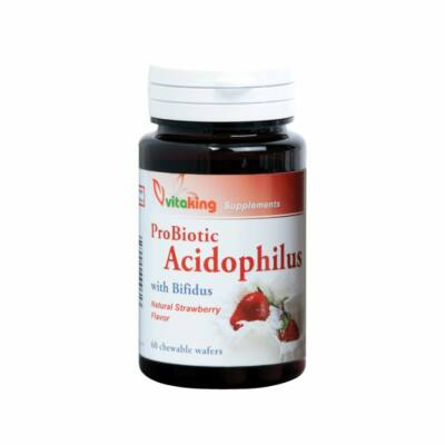 VITAKING Acidophilus Epres Rágótabletta 60 db