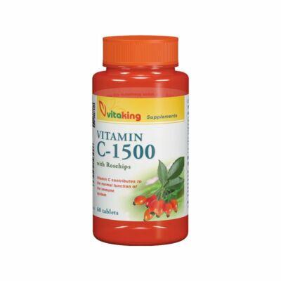 VITAKING C-vitamin 1500 mg Csipkebogyóval 60 db