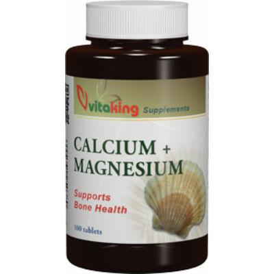 VITAKING Kalcium-Magnézium Tabletta 100 db
