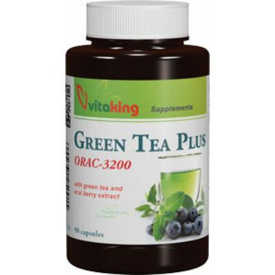 VITAKING Green Tea Plus Kapszula 90 db