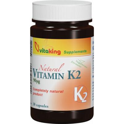 VITAKING K2-Vitamin kapszula 30 db