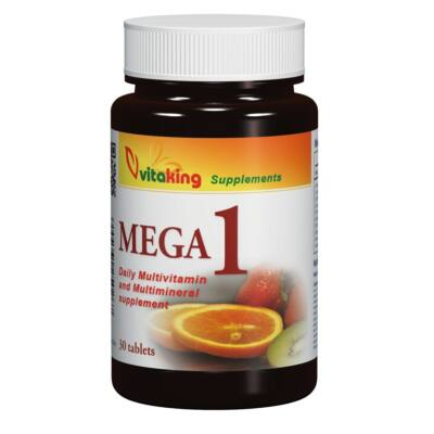 VITAKING Mega 1 Multivitamin Tabletta 30 db