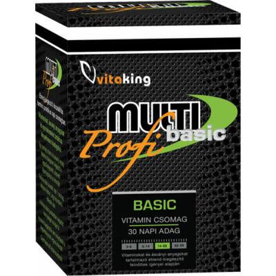 VITAKING Profi Multi Basic vitamincsomag 30 napra