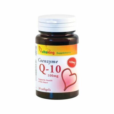 VITAKING Q-10 Koenzim Kapszula 100 mg - 30 db