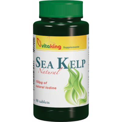 VITAKING Sea Kelp (jód) Tabletta 90 db