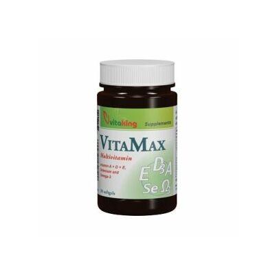 VITAKING Vitamax Multivitamin Gélkapszula 30 db