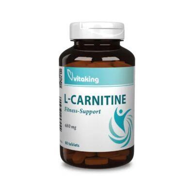 VITAKING L-Carnitine Tabletta 100 db