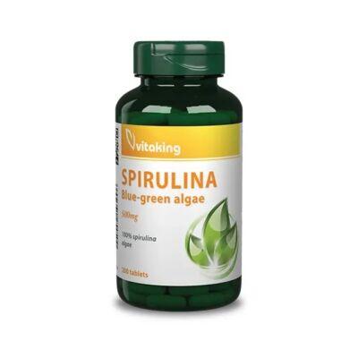 VITAKING Spirulina alga tabletta 200 db