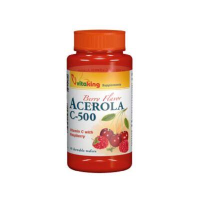 VITAKING C-vitamin 500 mg Acerola Rágótabletta 40 db