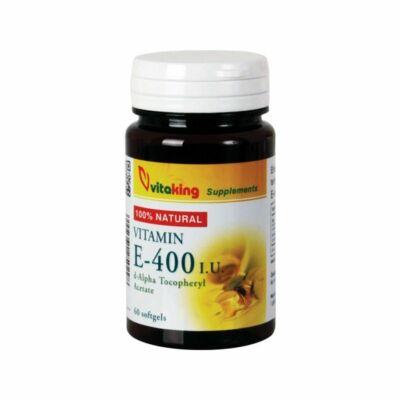 VITAKING E-400 Vitamin Kapszula 60 db