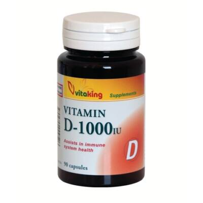 VITAKING D-1000 Vitamin Kapszula 90 db
