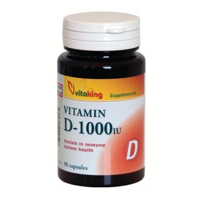 VITAKING D-1000 Vitamin Kapszula 90 db