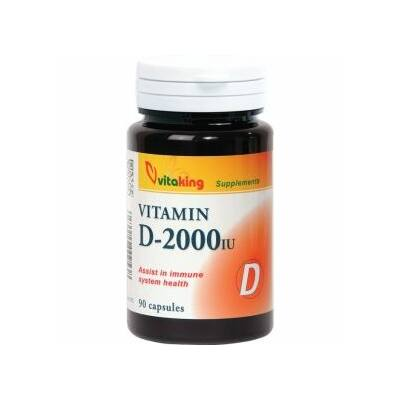 VITAKING D-2000 Vitamin Kapszula 90 db