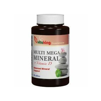 VITAKING Multi Mega Mineral Tabletta 90 db