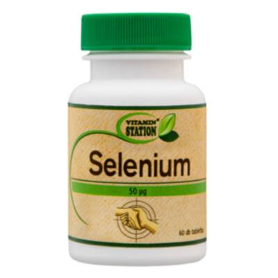Vitamin Station Selenium (Szelén) tabletta 60 db