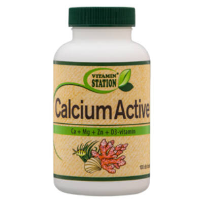 Vitamin Station Calcium Active tabletta 100 db