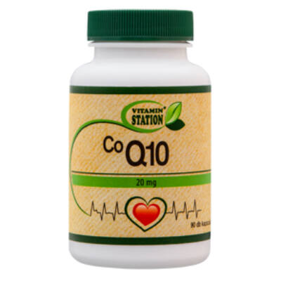 Vitamin Station CoQ10 tabletta 90 db