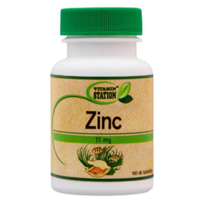 Vitamin Station Cink tabletta 100 db