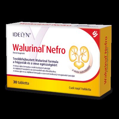 WALMARK Walurinal Nefro tabletta a Húgyutak Egészségéért 30 db