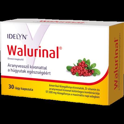 Idelyn Walurinal tőzegáfonya kapszula 30 db