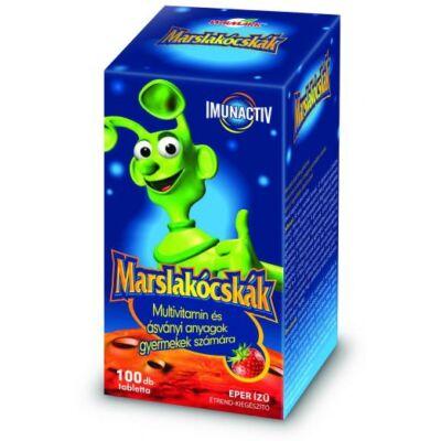 WALMARK Marslakócskák Multivitamin Eper ízű 100 db