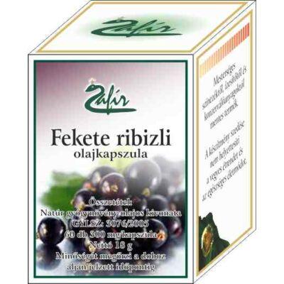 ZAFIR Fekete ribizli olajkapszula 60 db