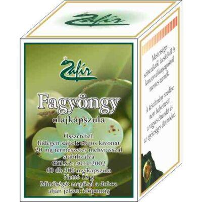 ZAFIR Fagyöngy olajkapszula 60 db