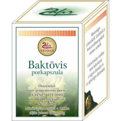 ZAFIR Baktövis porkapszula 60 db
