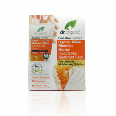 Dr. Organic Kéz- és körömápoló csomag manuka mézes 125 ml