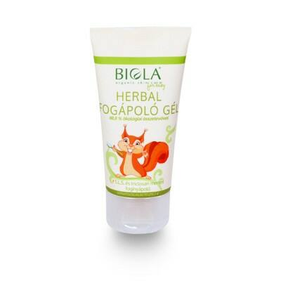 BIOLA Herbal fogápoló gél 50 ml