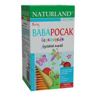 NATURLAND Babapocak teakeverék 20 filteres