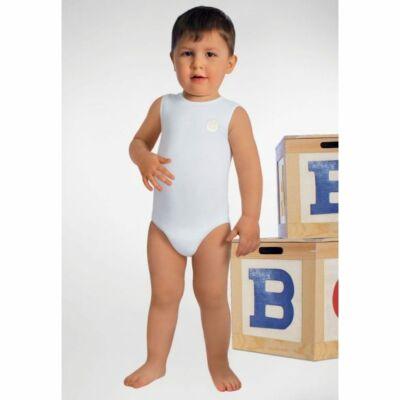 RELAXSAN Gyermek Body trikó tejszállal 6-36 hónapos korig - Fehér, 1 db