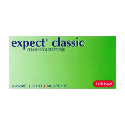 Expect Classic Terhességi tesztcsík 1 db
