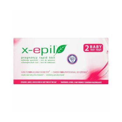X-Epil Terhességi gyorsteszt csík 2 db