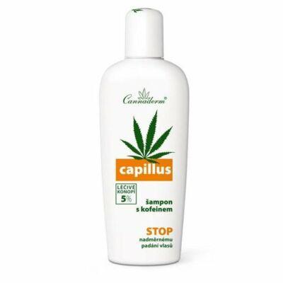 CANNADERM Capillus Sampon Koffeinnnel hajhullás ellen 150 ml